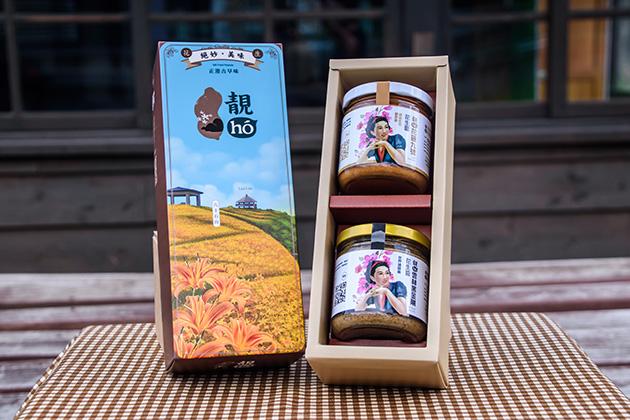 靚hó花蓮縣禮 原味花生醬禮盒 1